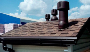 Ventilation system for roofs